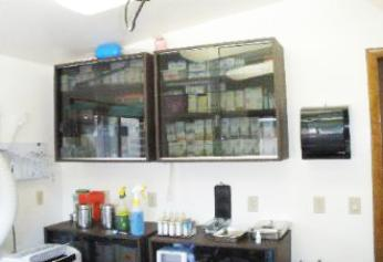 Pet Surgery Supply Cabinet